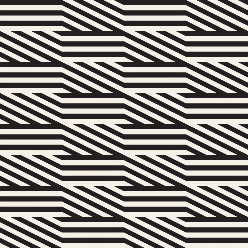 创意矢量单色条纹线性装饰背景设计