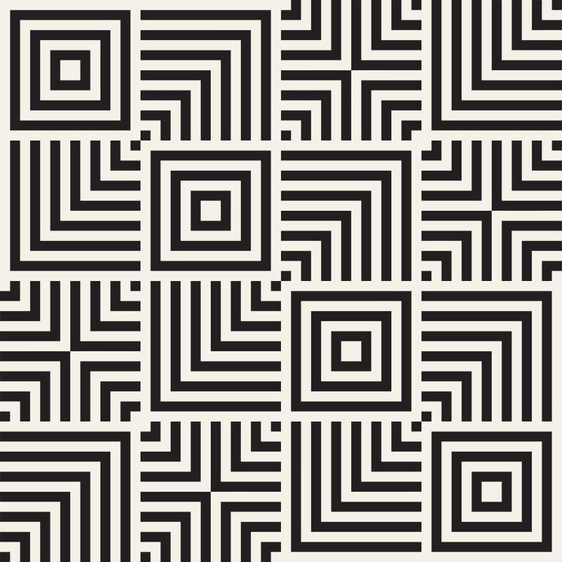 创意矢量线性纹理装饰无缝背景
