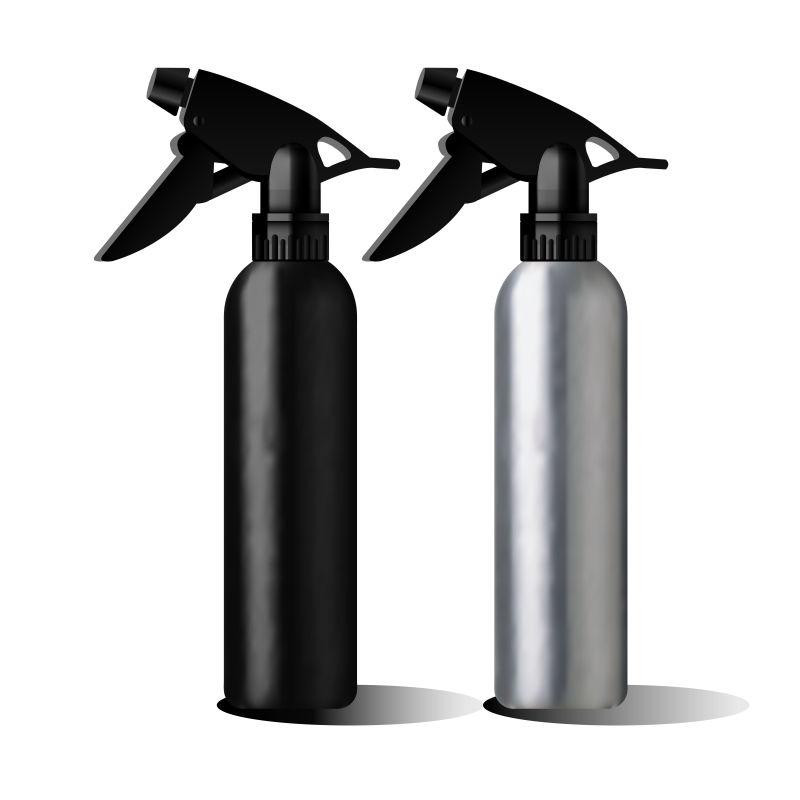 创意矢量现代精油瓶包装创意设计