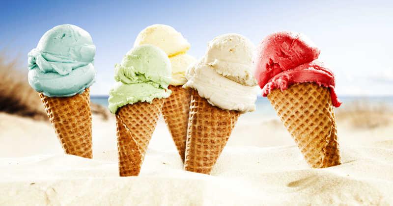 5个冰激凌