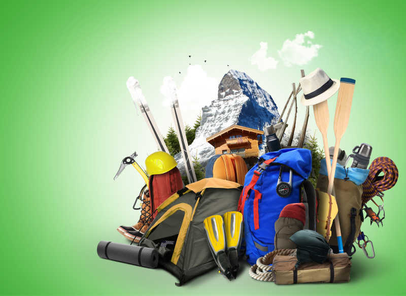 登山必备旅行用品