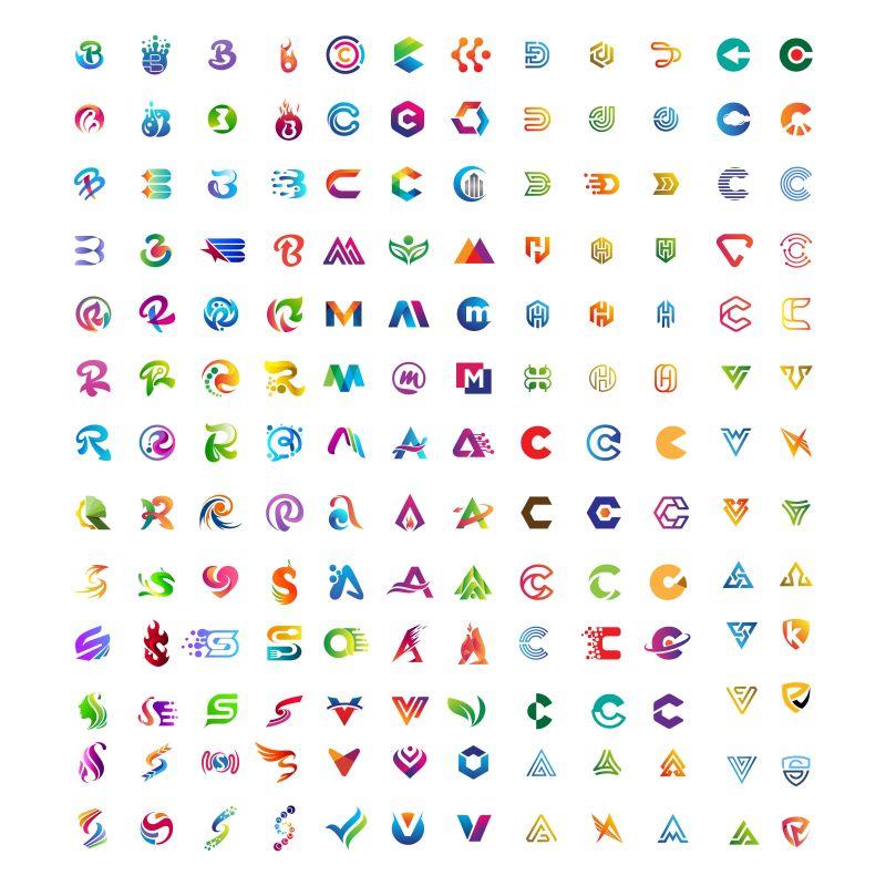 摘要字母Mega集合