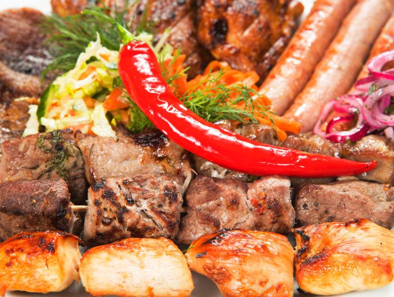 酱蔬菜烧烤