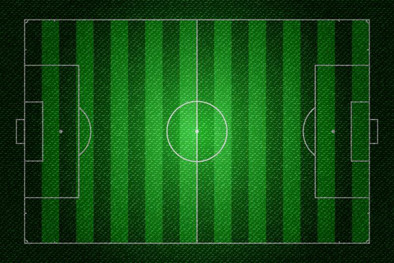 矢量足球概念