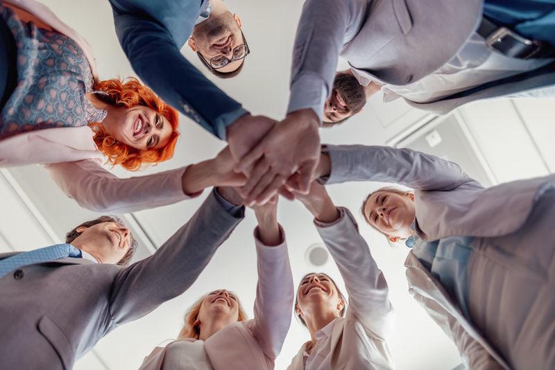 业务团队团结一致