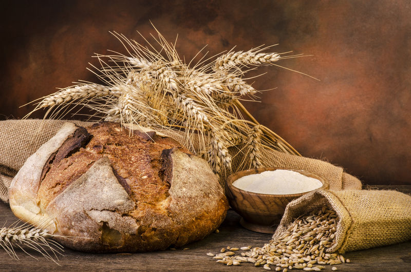 面包用小麦秸秆和