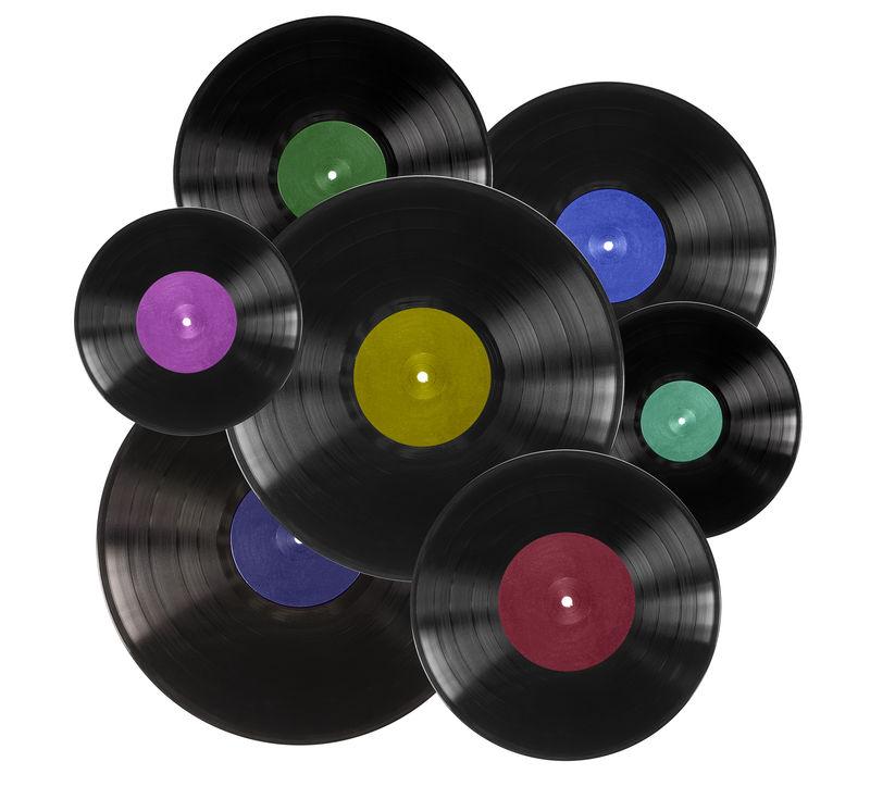 白色乙烯基唱片