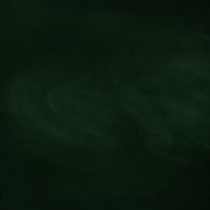 黑板/黑板纹理-带粉笔痕迹的空白绿色黑板