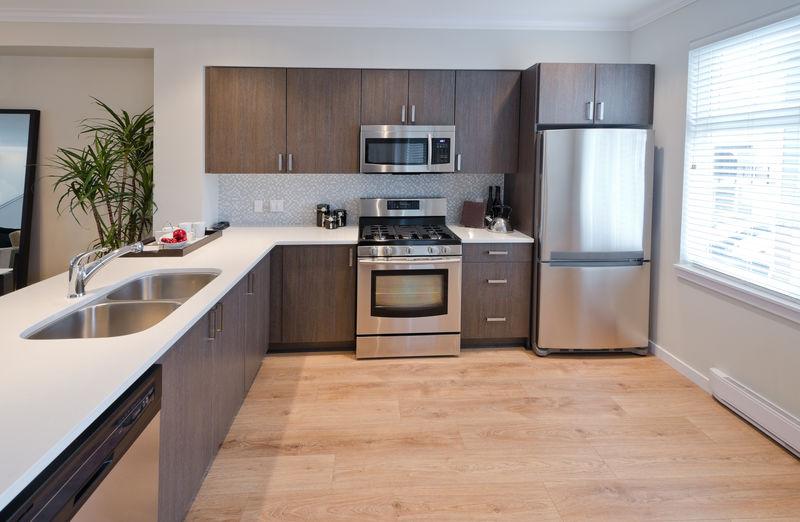 豪华现代厨房-室内设计