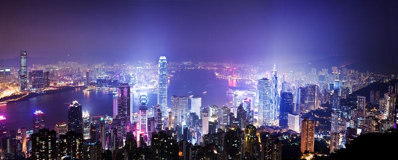 香港的夜晚