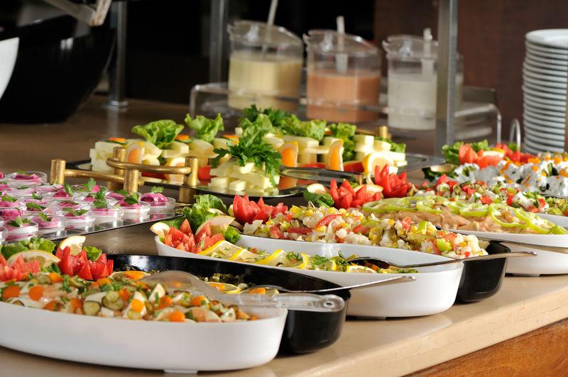 婚宴上的餐饮-一系列餐厅图片
