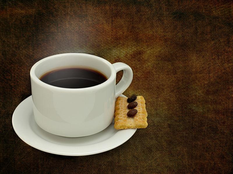 一杯新鲜咖啡