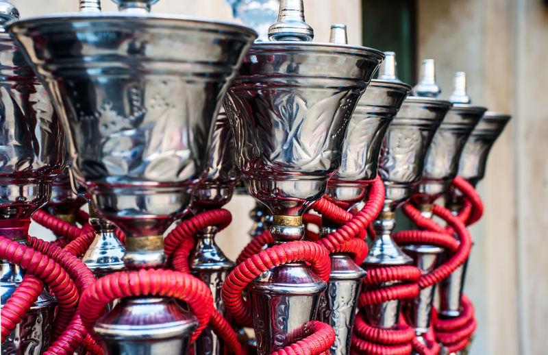 传统的阿拉伯什叶派管水烟