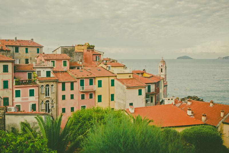 意大利、欧洲利古里亚海岸的拉斯佩齐亚