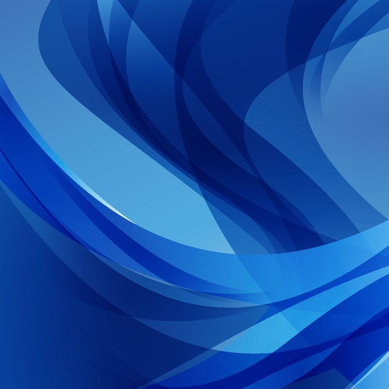 邀请卡、问候语和演示文稿的抽象蓝色背景