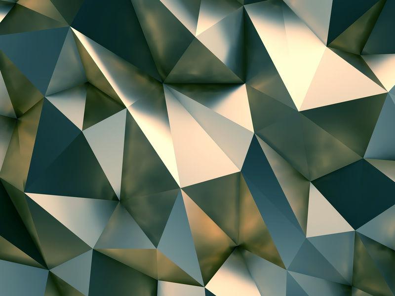 样式抽象背景三维渲染