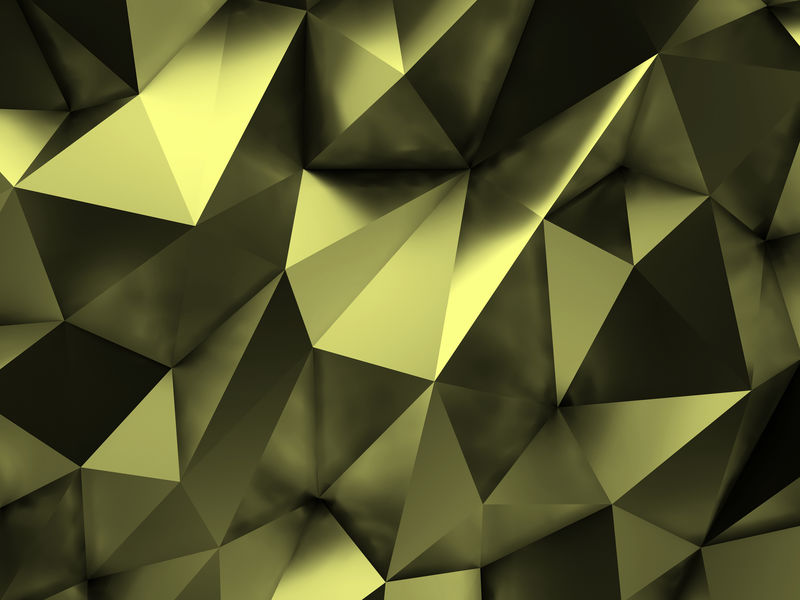 绿色抽象背景三维渲染