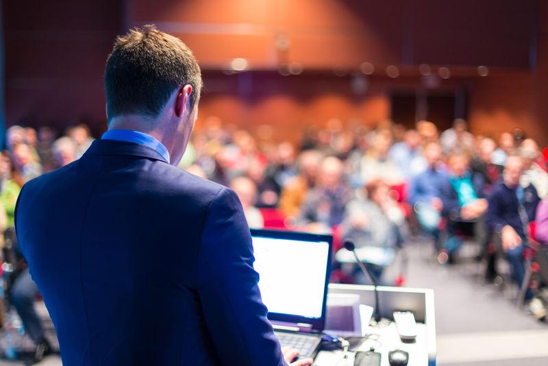 商务会议及演讲主讲人-会场听众