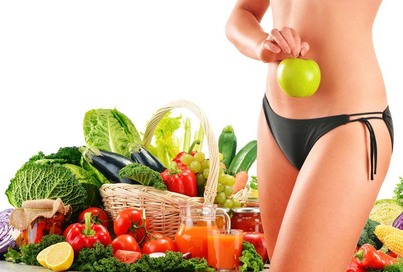 节食-以生有机蔬菜为基础的均衡饮食
