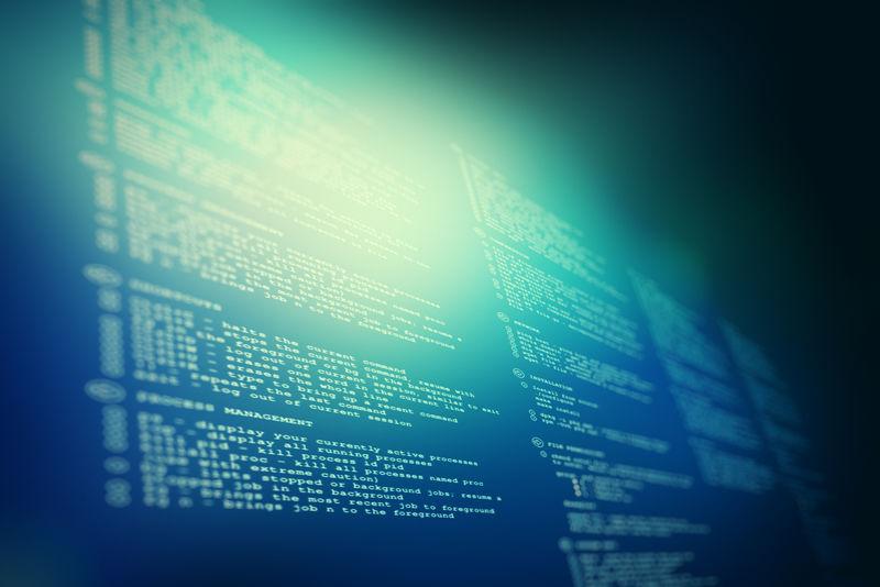 抽象代码技术背景