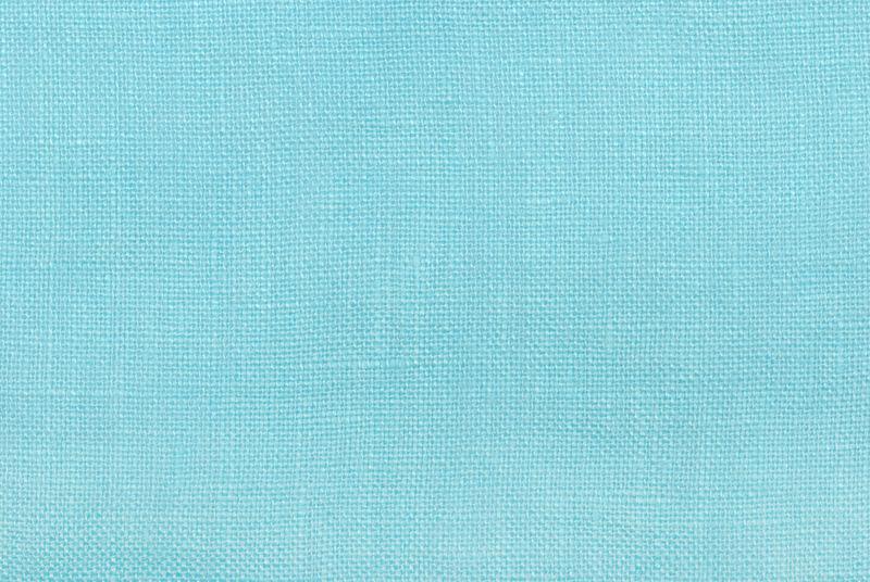 蓝色亚麻织物背景