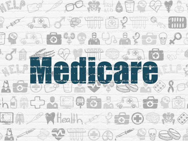医疗理念:医疗保险墙背景