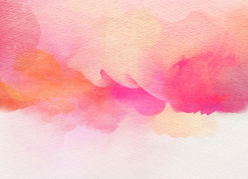 抽象色彩水彩为背景