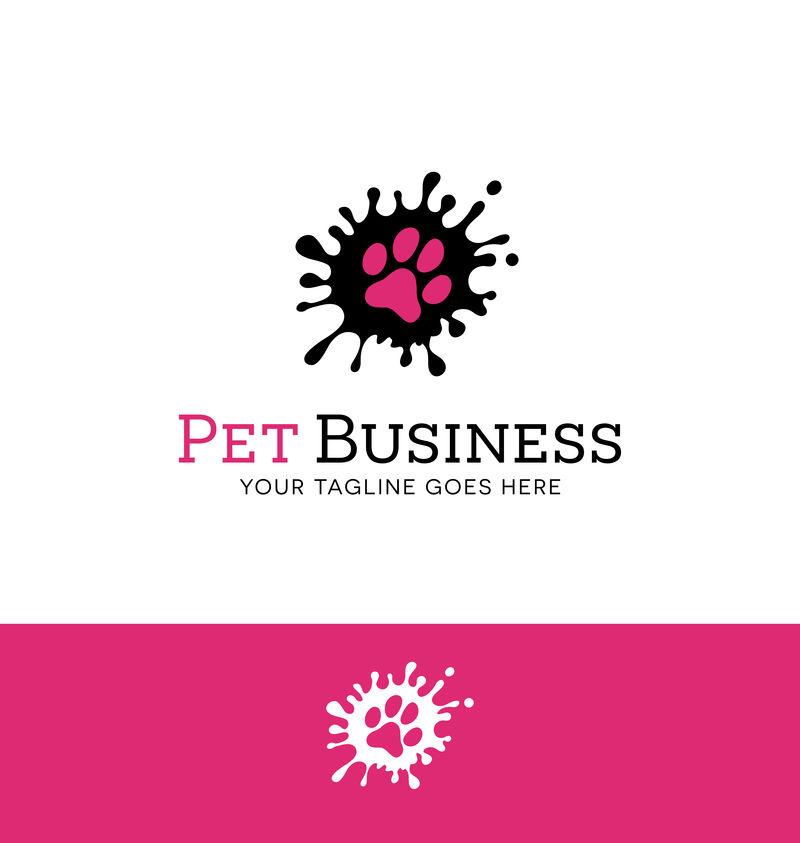 宠物相关业务或宠物相关网站的标志设计
