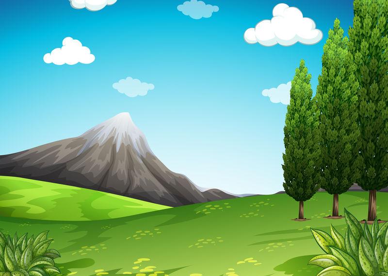 山野自然风光