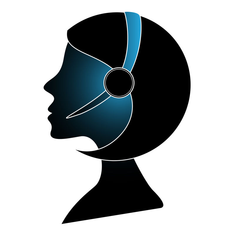 带耳机的呼叫中心助理架构