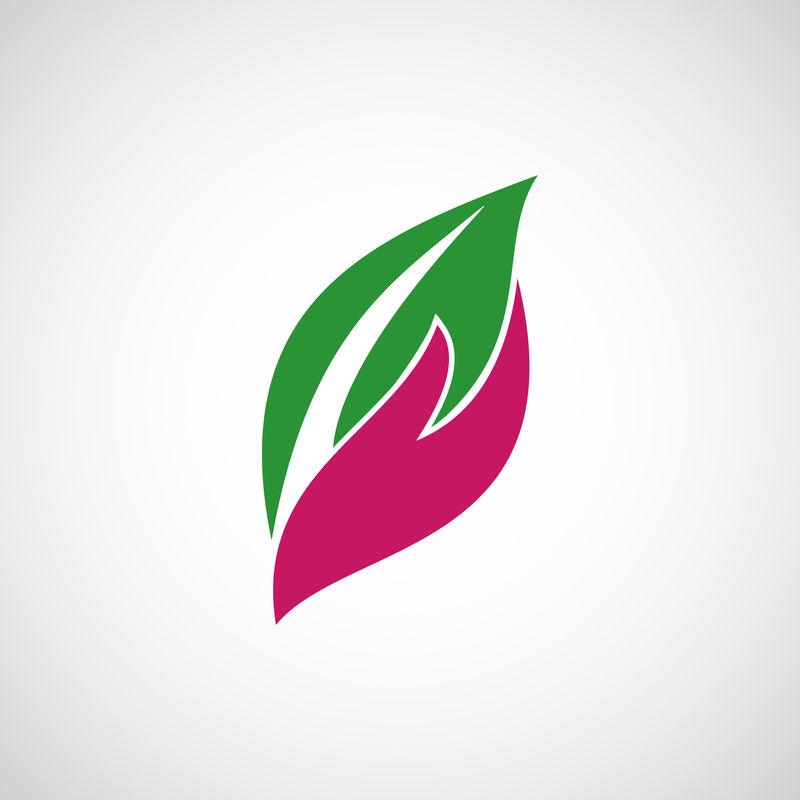自然之爱标志设计
