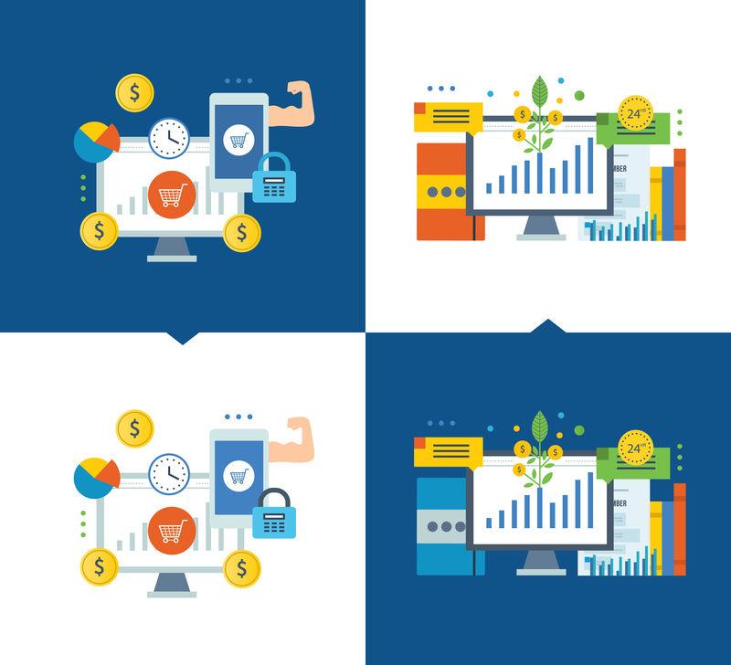 投资股市,增长,在线支付,移动营销。