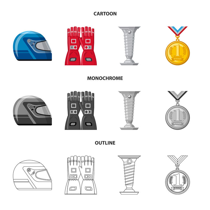 汽车矢量设计和拉力标识-网络的汽车和赛车标志集