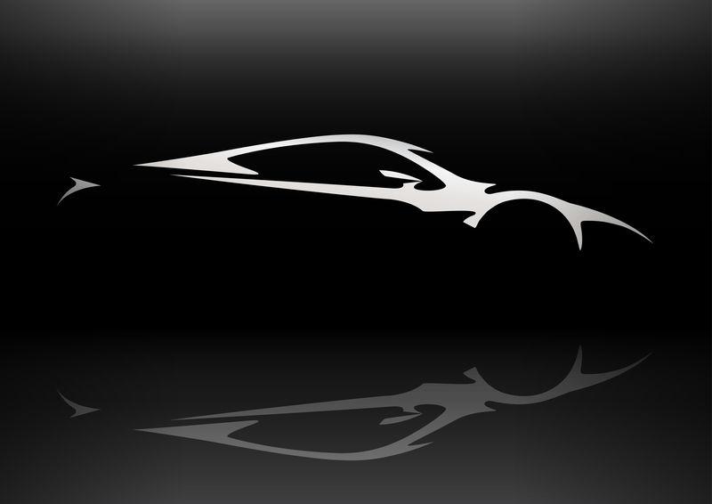 概念跑车车型轮廓06