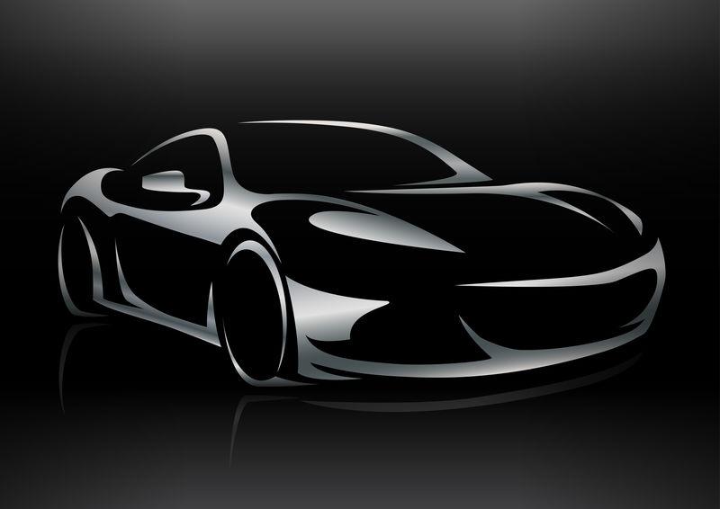 概念跑车车型轮廓2