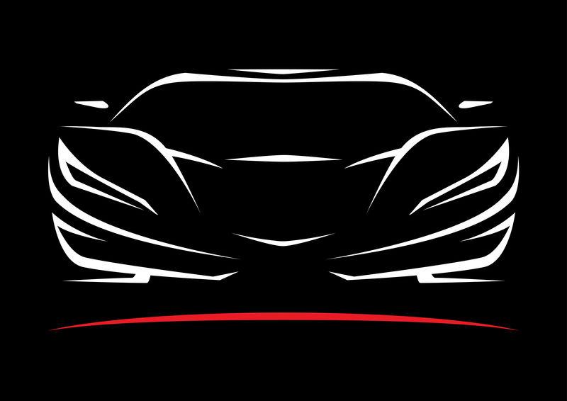 概念跑车车型轮廓4