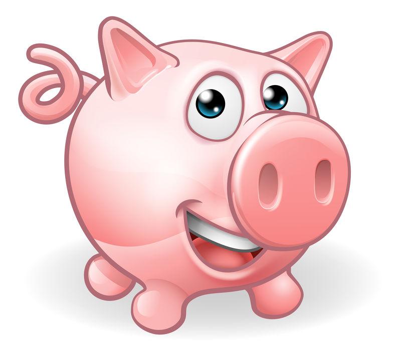 卡通可爱猪场动物