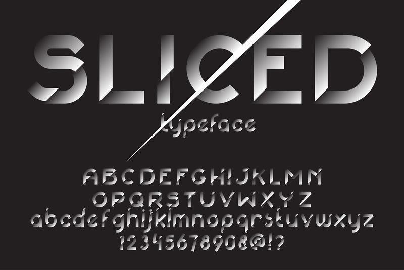 119876切片字体集