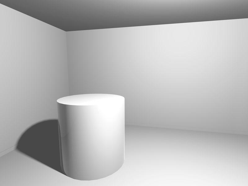 带支架的白色工作室背景-矢量背景