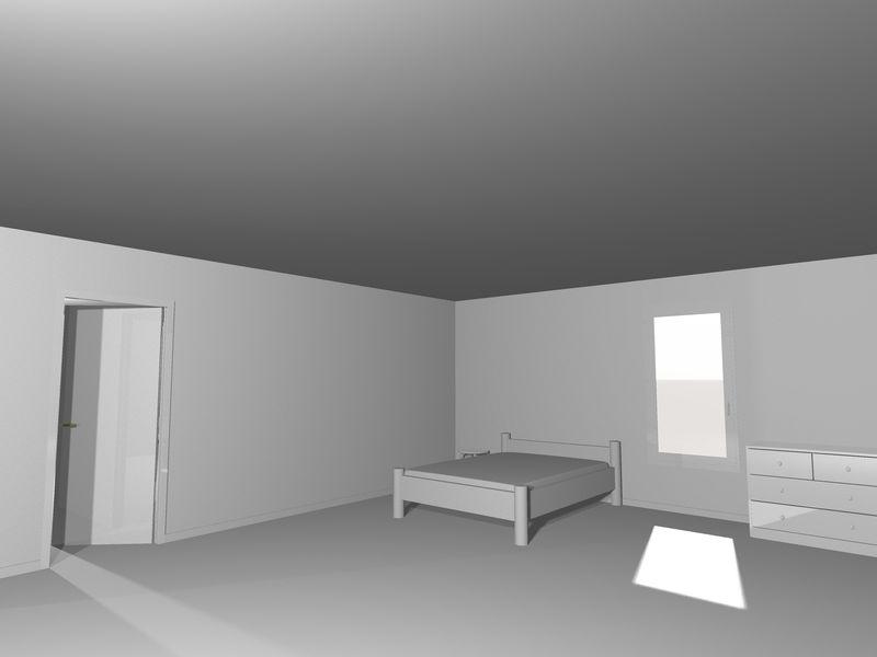 抽象建筑现代设计背景-三维渲染插图