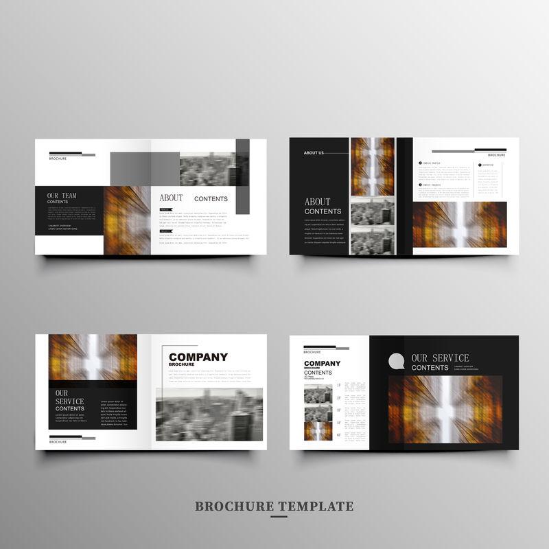 原始演示模板或公司小册子-易用在创意传单和风格信息横幅-时尚的战略模型-简单的现代幻灯片或启动-幻灯片演示文件