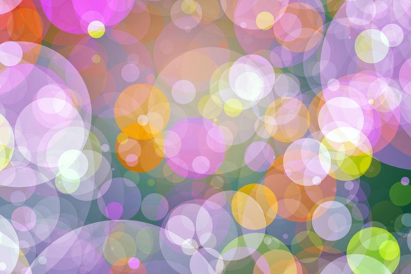 彩色光晕背景