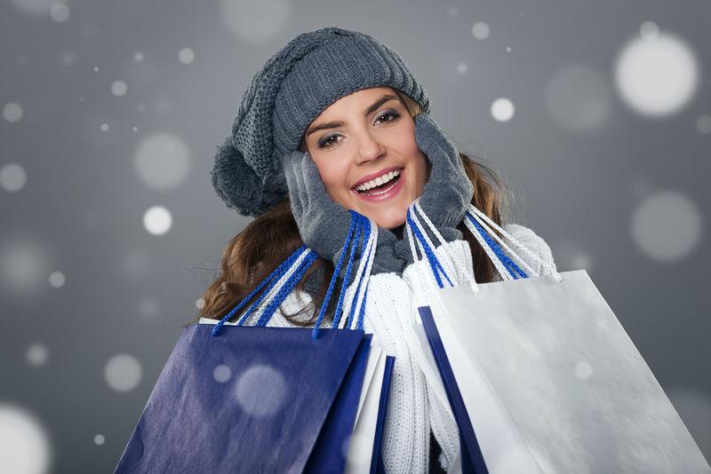 魔术与冬季成功购物