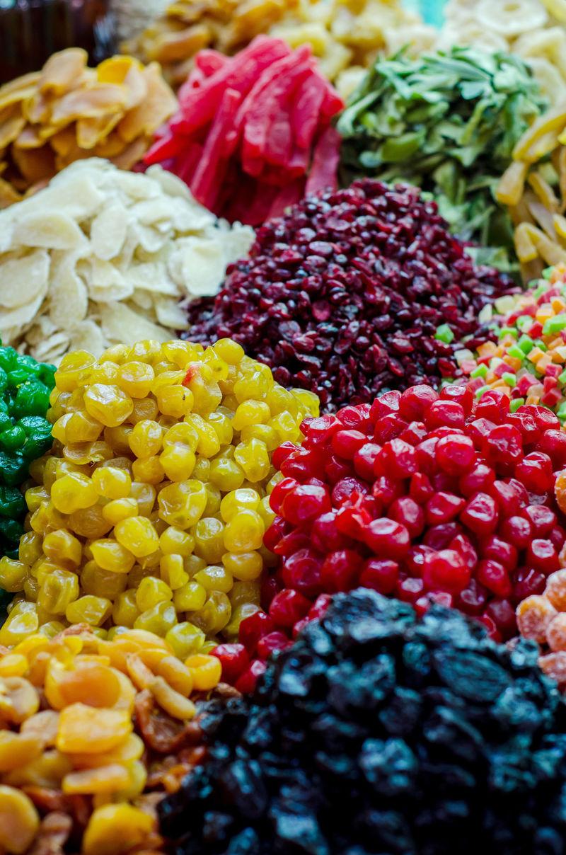 土耳其糖果在集市