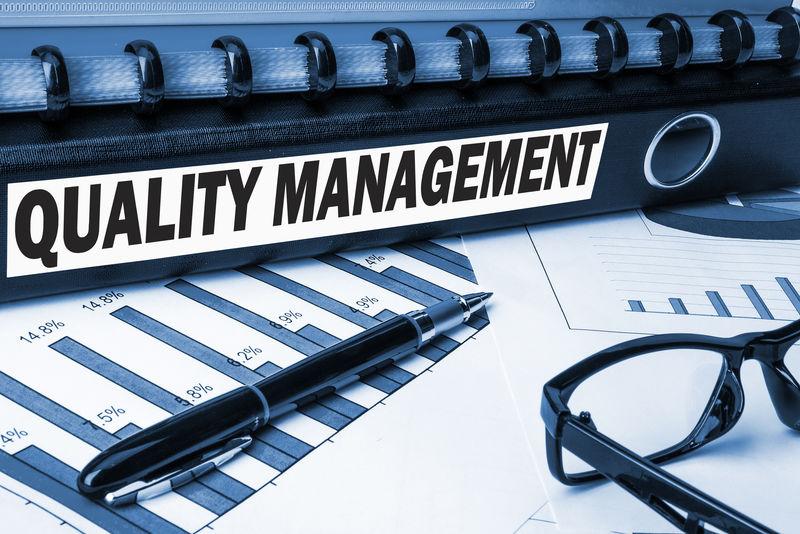 业务文档文件夹上的质量管理标签