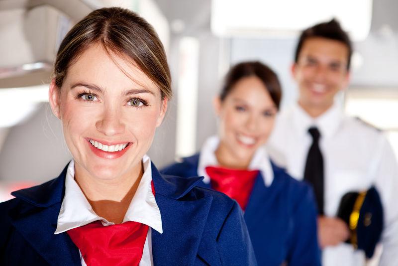 飞机乘务员