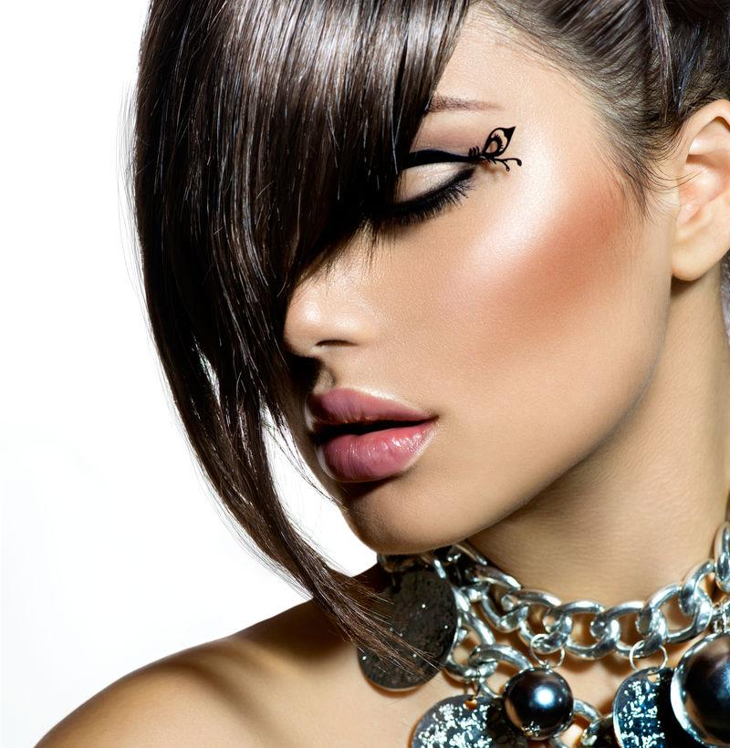 时尚魅力美女发型时尚发型