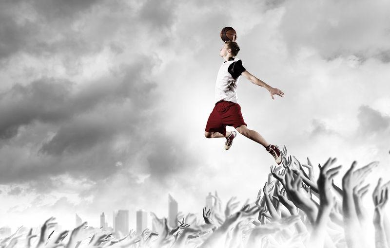 篮球运动员。
