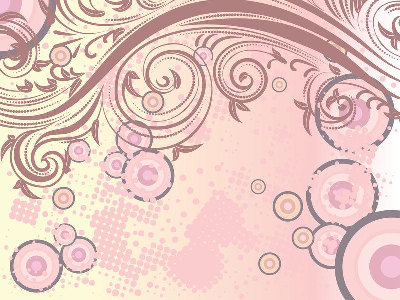 装饰性花卉背景