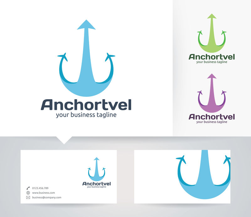 海洋标志-锚符号设计灵感